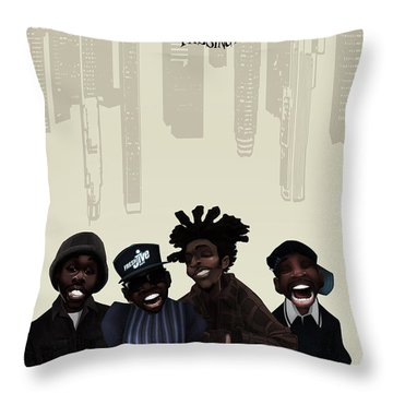 Pharcyde -passing Me By 1 Throw Pillow