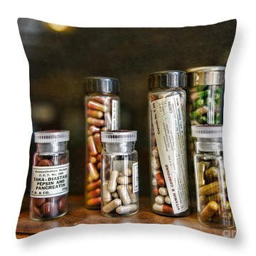 Pharmacist  For All That Ails You Throw Pillow by Paul Ward