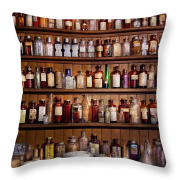 Pharmacy - Pharma-palooza  Throw Pillow by Mike Savad