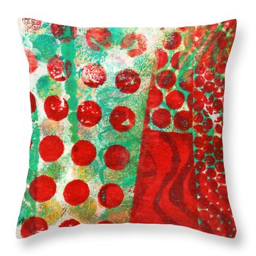 Phase Series - Change Throw Pillow by Moon Stumpp
