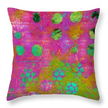 Phase Series - Choice Throw Pillow by Moon Stumpp