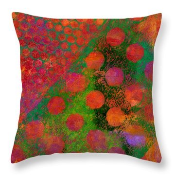 Phase Series - Direction Throw Pillow by Moon Stumpp