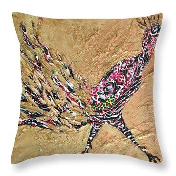 Pheasant. Throw Pillow by Sima Amid Wewetzer