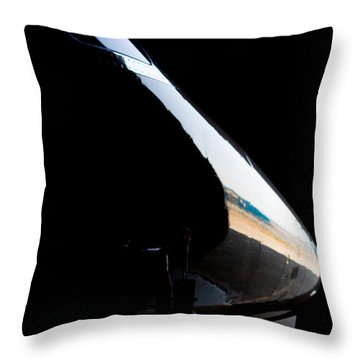 Phenom Reflection Throw Pillow by Paul Job