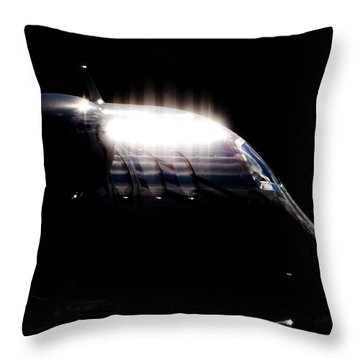 Phenon Reflections Throw Pillow by Paul Job
