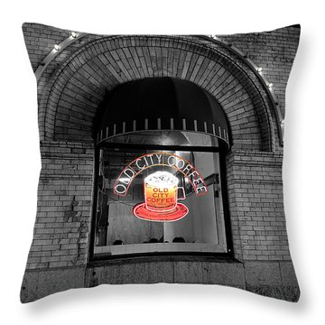 Philadelphia -old City Coffee Throw Pillow