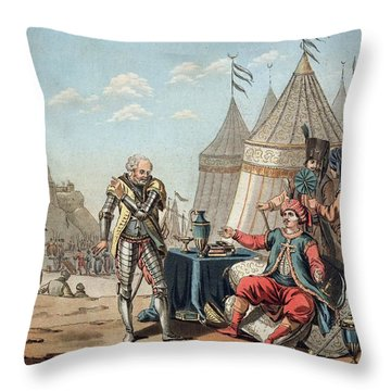 Philippe Villiers De Lisle-adam Refuses Throw Pillow