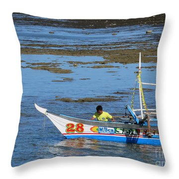 Philippine Guide Throw Pillow