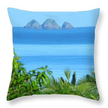 Philippine Islands Throw Pillow