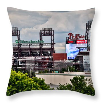 Phillies Stadium Throw Pillow