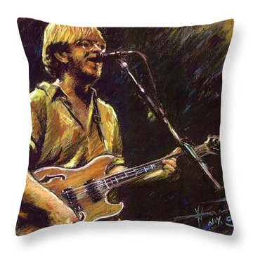 Phish Throw Pillow