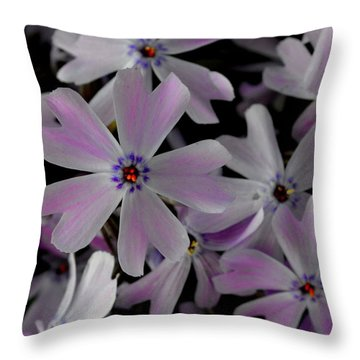 Phlox- Limited Edition 1 Of 10 Throw Pillow