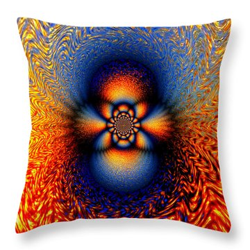 Phoenix II Throw Pillow by Aurelio Zucco
