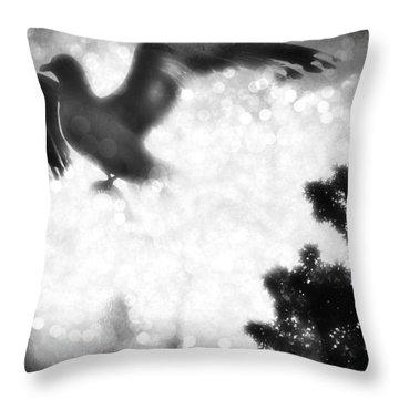 Phoenix IIi Throw Pillow by Aurelio Zucco