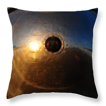 Throw Pillow featuring the photograph Phoenix Nose by Susie Rieple