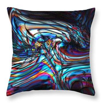 Phoenix Throw Pillow by Richard Thomas