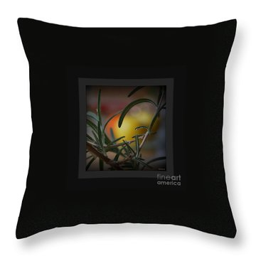 Throw Pillow featuring the photograph Photo For Your Soul... by Marija Djedovic