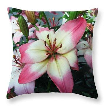 Photo Of Flower Throw Pillow
