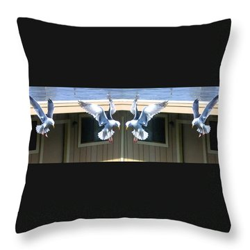 Photo Synthesis 3 Throw Pillow by Will Borden