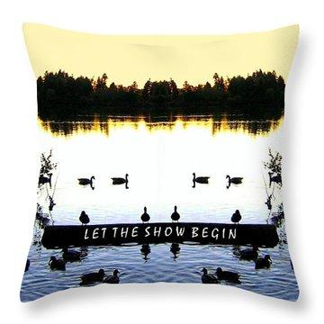 Photo Synthesis 4 Throw Pillow