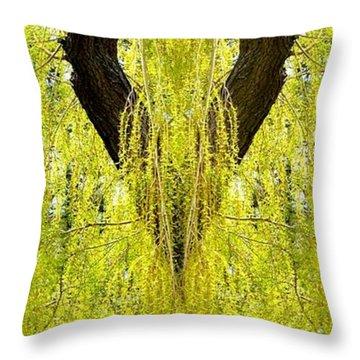 Photo Synthesis 5 Throw Pillow