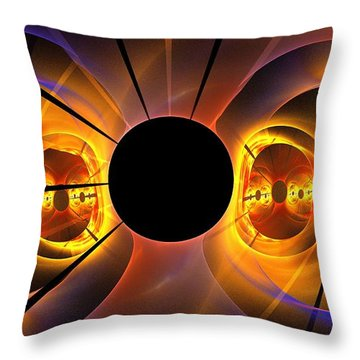 Photosphere Throw Pillow