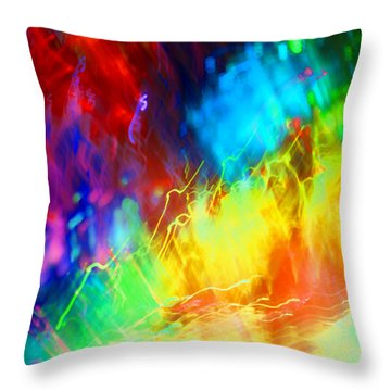 Physical Graffiti 1full Image Throw Pillow