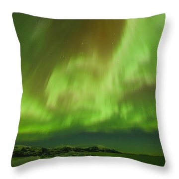 Physics Throw Pillow by Ted Raynor