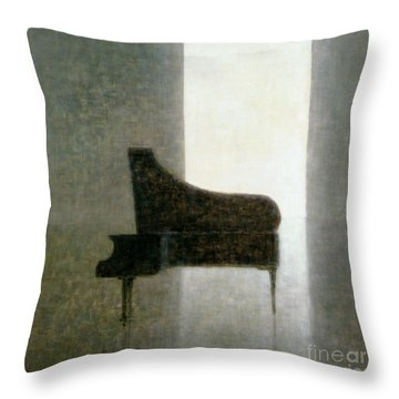 Piano Room 2005 Throw Pillow
