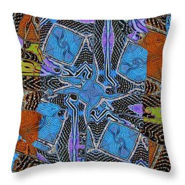 Piano Strings 5 Throw Pillow