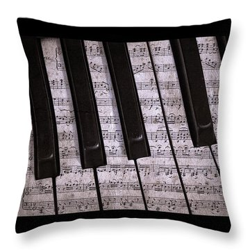 Pianoforte Classic Throw Pillow by John Stephens