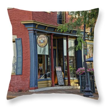Picasso's N Main St Charles Mo Dsc00900  Throw Pillow