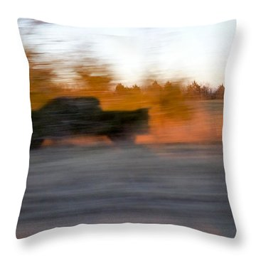 Pickup Shadow Throw Pillow