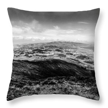 Pico Da Barrosa Throw Pillow