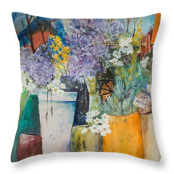 Picture Puzzle Throw Pillow