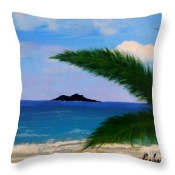 Piece Of Heaven Throw Pillow