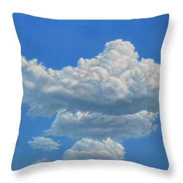 Piece Of Sky 3 Throw Pillow