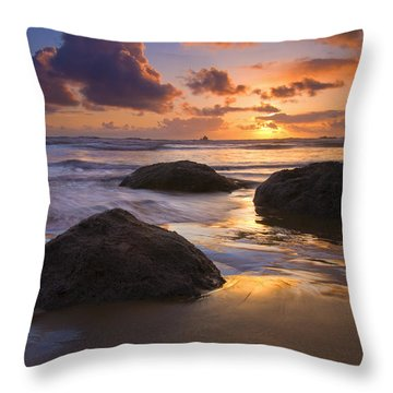Pieces Of Eight Throw Pillow