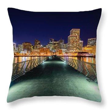 Pier 14 Throw Pillow