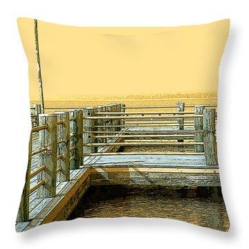 Pier 2  Image A Throw Pillow