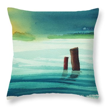 Pier 51 Throw Pillow