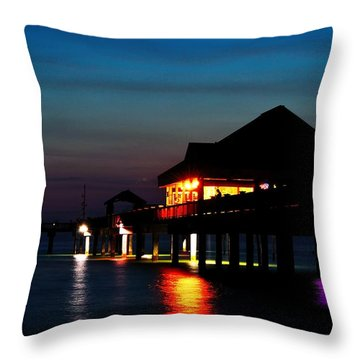 Pier 60 In After Glow Throw Pillow