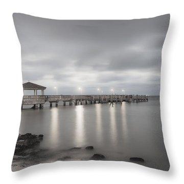 Pier II Throw Pillow