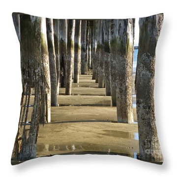 Pier Pressure Throw Pillow