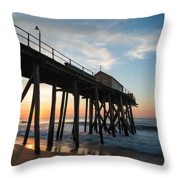 Pier Side Throw Pillow