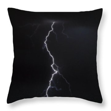 Pierce The Night Throw Pillow