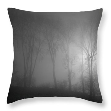 Piercing Light Throw Pillow