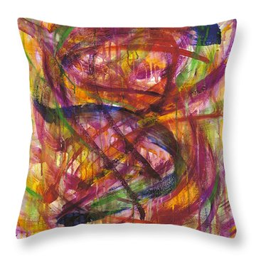 Piercing The Veil Throw Pillow