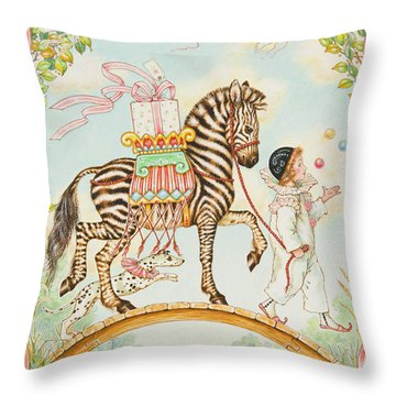Pierrot Throw Pillow
