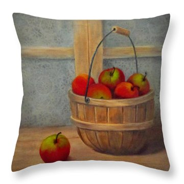 Pies Anyone Throw Pillow